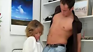 Hot Mature Blonde Fucked At Home
