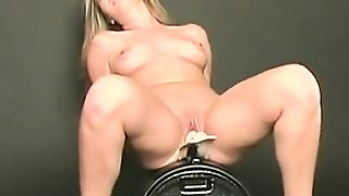 Sweet Solo Anal Toying With Hot Blonde Milf