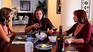 Evan Stone Attacks Alluring Presley Hart's Mouth With His Love Torpedo