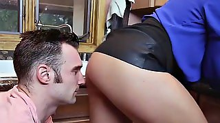 Stepmom Is Fucking A Dude