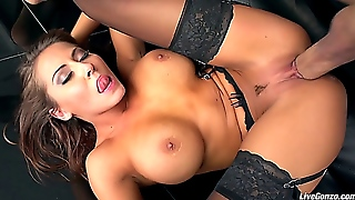 Madison Ivy In Black Stokings