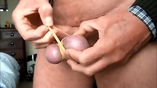 Castration Play Rubber Bands