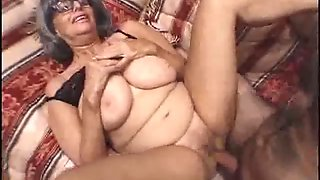 Chubby Granny Loves That Cock