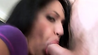 Slut With Big Ass Sucking