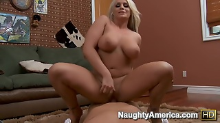 Sadie Swede & Christian In House Wife 1 On 1
