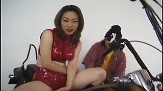 Asian With Big Tits Solo Masturbation