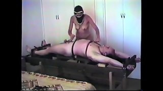 I Got 2 Femdom Handjobs While Tied To A Rack