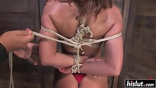 Busty Babe Is Really Into Kinky