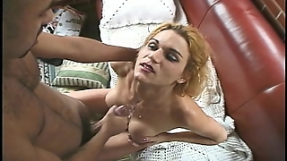 Sexy Blonde With A Big Surprise