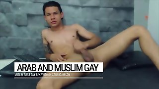 Happy Gay Slave To An Arab Master