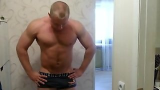 Str8 Russian Muscle Bulge