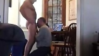 Sensitive Cock Blow Job