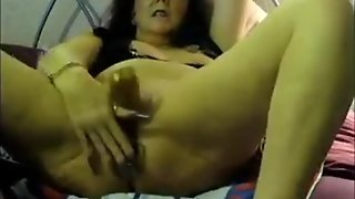 Extreme Anal Solo Granny Hannah 57