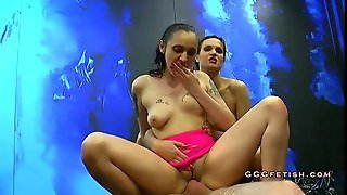Two Sluts Gives Cumswap And Cumswallow