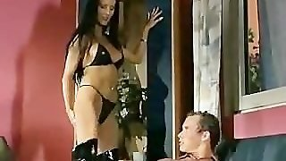 Brunette, Handjob, Pussylicking, Mom, Milf, Wife, Latex, Blowjob, Lingerie, Teasing, Fingering