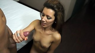 Naughty And Busty Milf Wants All Your Milk In Her Face