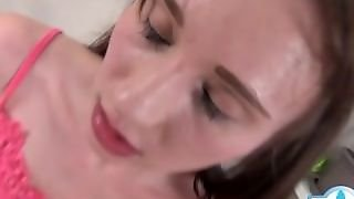 Cowgirl Cumshot In Mouth