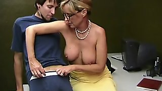 Jodi West Mature Ladies Stroking Young Cocks