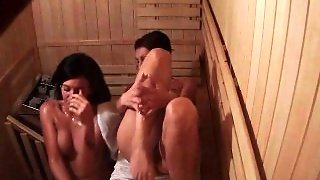 2 Girls Spied On In Public Sauna Room