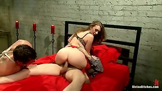 Mistress T Fucked After Pegging Another Guy's Ass In Femdom Clip