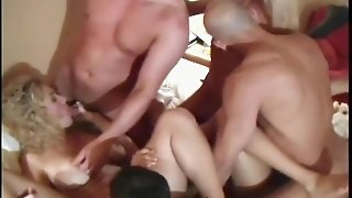 Huge Wife Swap Orgy!