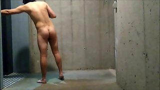 Risky Naked Dare In The Apartment