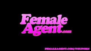 Femaleagent Assistant Cameraman Gets In On The Casting Action
