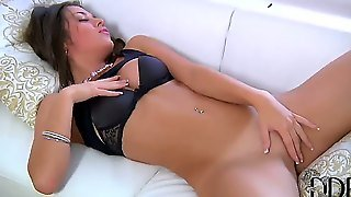 Hey, Guys, Hurry Up To Click Here And Enjoy The Amazing Scenes Of The Shaved Pussy Masturbation Action Provided By The Beautiful Brunette Goddess Mila L. Real Orgasm Is Provided
