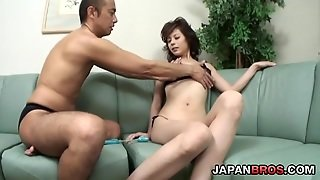 Two Play With Natsumi Mitsu And Get Hot Blowjobs