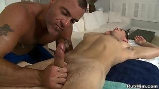 Pleasurable Blow Job With Sexy Homosexual Pair