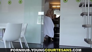 Young Courtesans - Newbie Paid For Taking A Cumshot