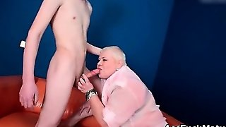 Lucky Young Guy Gets To Fuck A Horny Part1