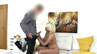 Alluring Fake Agent Is Getting Nailed