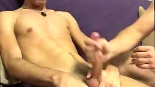 Muscular Gay Daddy Whips Twink Chad Was