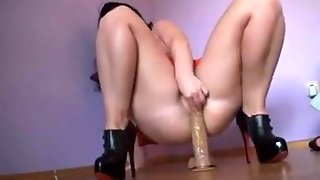 Dildo Toying