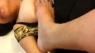 Chubby Indian With A Foot Fetish