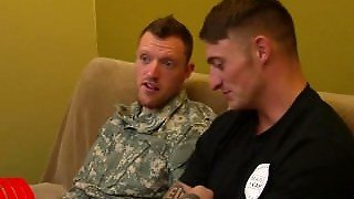 Corporal Dane   S First Gay Blowjob