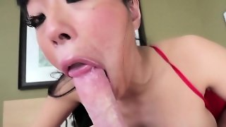 Pov Asian Sucking Schlong