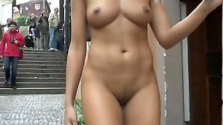 Amateur, Shaved, Nude In Public, Outdoors, Homemade, Blonde, Public Nudity, Flashing, Public, Nipactivity, Babe