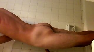 Guy In Shower Masturbating
