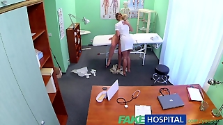Fakehospital Nurse Finds Exposed Russian After Doctors Checkup And Takes Full Advantage Of The Opportunity
