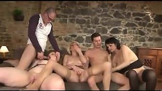 Stockings, Swingers, Old Young, Grannies, Orgy