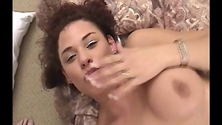 Busty Milf Having Fun With A Small Dick