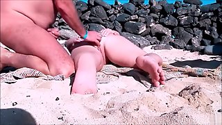 Beach Woman Has Her Vagina Touched By A Stranger