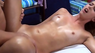 Beautiful Babe Performs Blow Job
