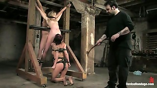 Classic Bondage For Three Sassy Sirens In One Bdsm Scene