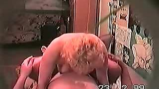 Housewife Tanja And Secret Lover On Spy Camera