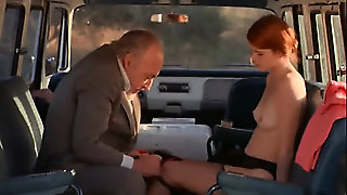 Old Young, Outdoor, Redhead, Teen