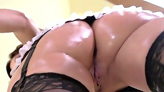 Big Butt, Masturbation, Solo, Maid, Striptease, Milf, Shower, Hd