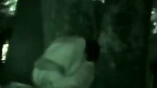 Voyeur Tapes A Partygirl Riding A Guy In The Park